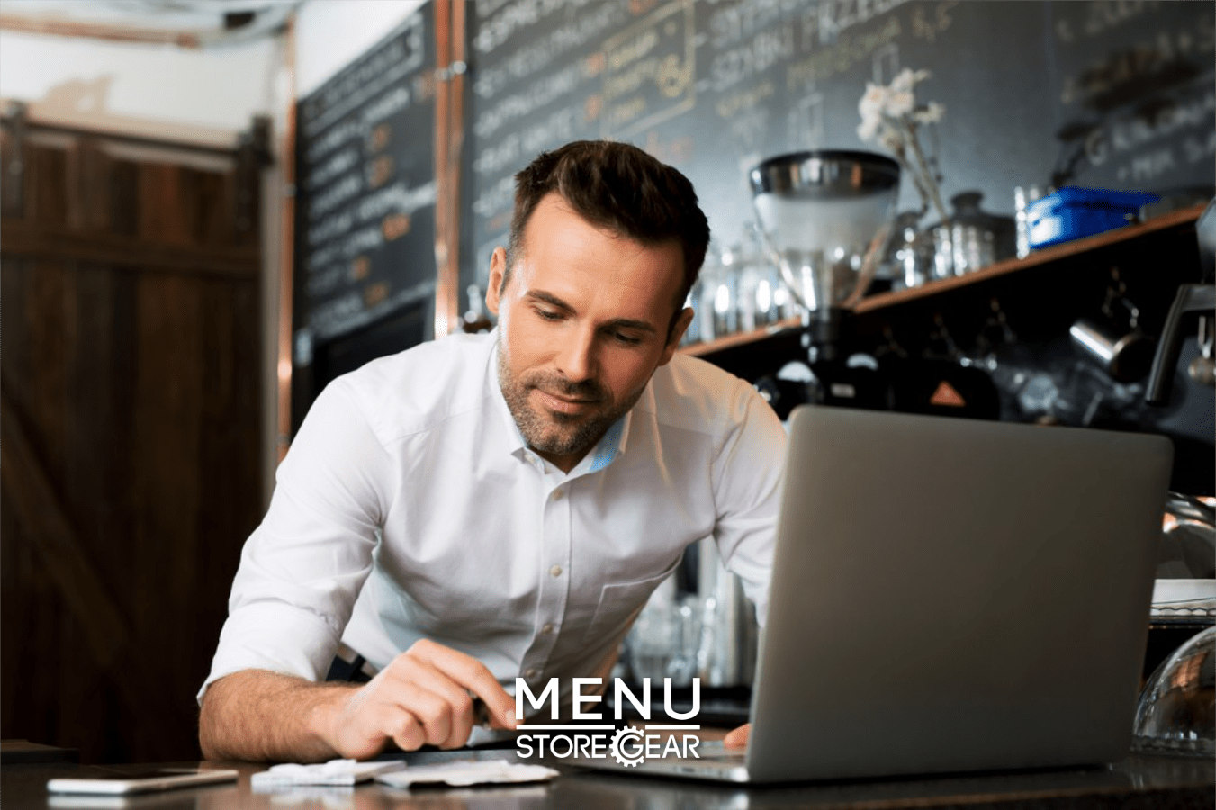 Easy-to-update online food ordering menu for restaurant owners