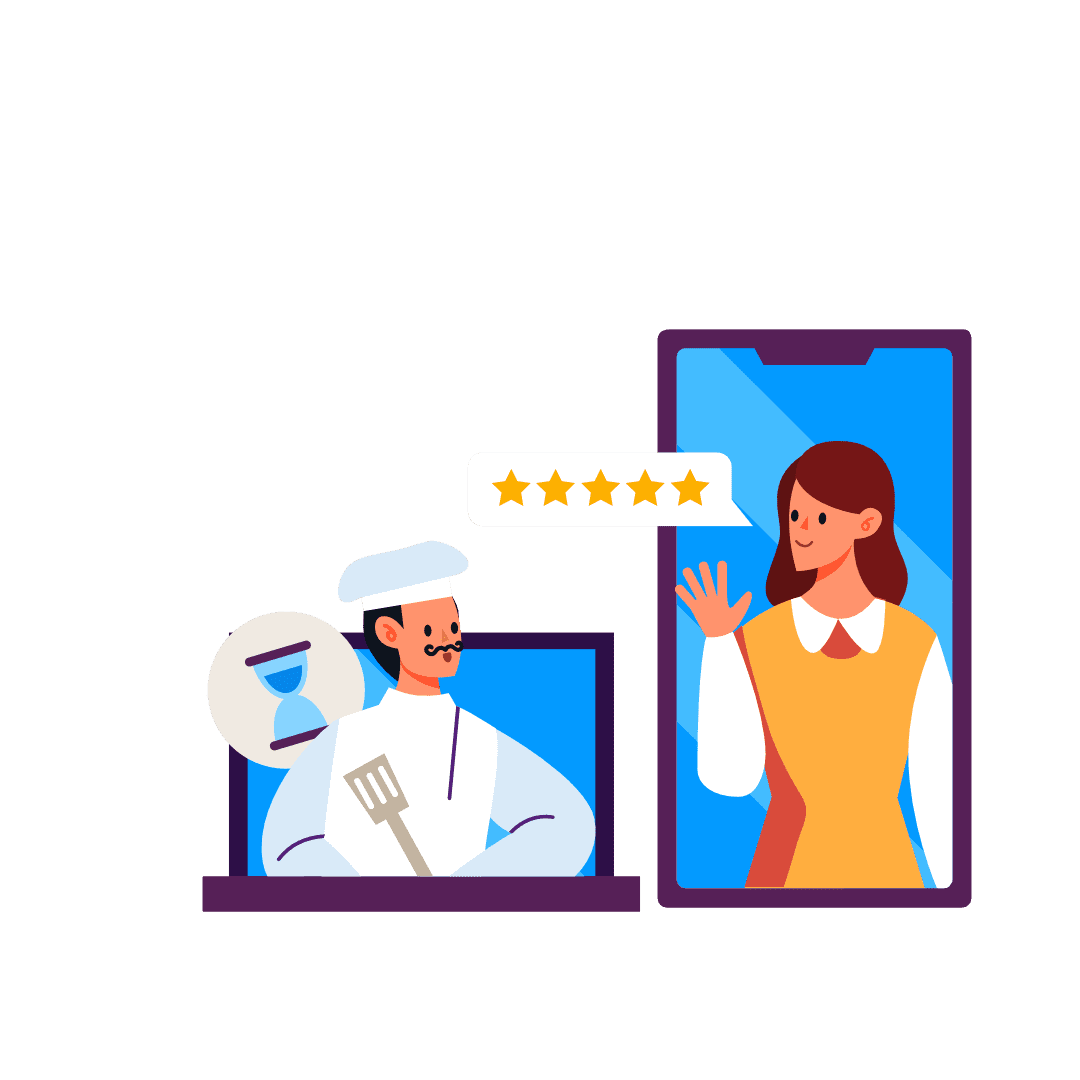 people finding your restauran online with storegear