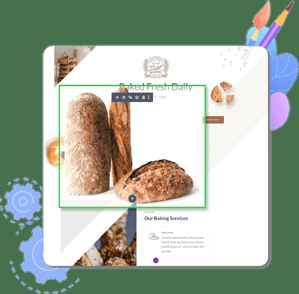 professional website design tools graphic