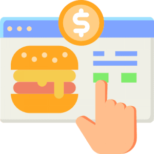 Restaurant Online Food Ordering System Icon